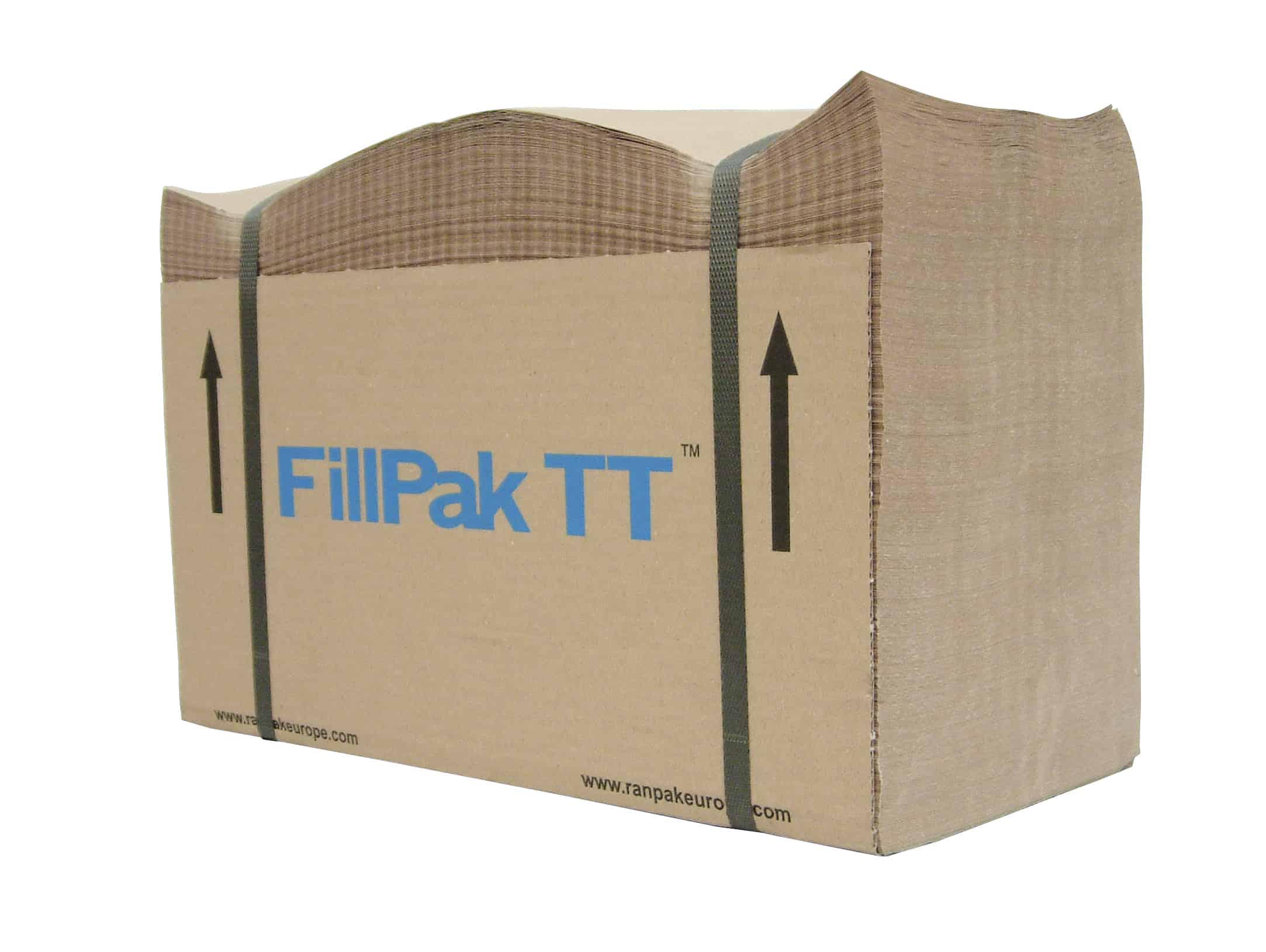 FillPak wypełniacze, wypełniacze papierowe do paczek