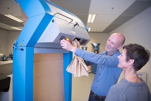 Wypełniacze papierowe, maszyny do pakowania