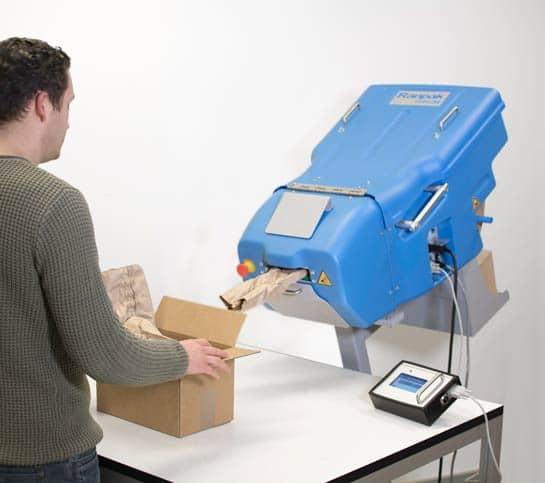 Test wypełniaczy wypełniacze papierowe do paczek