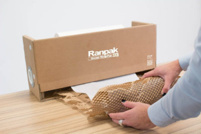 Papier do pakowania plaster miodu