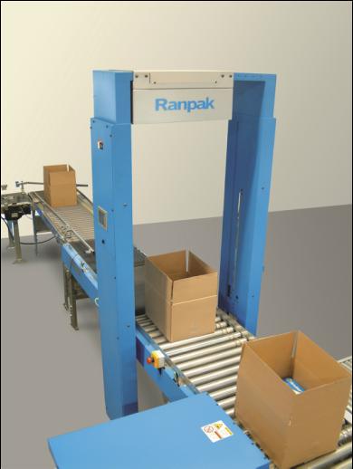 FillPak Accufill Wypełniacze papierowe do opakowań maszyna, pracownik, linia