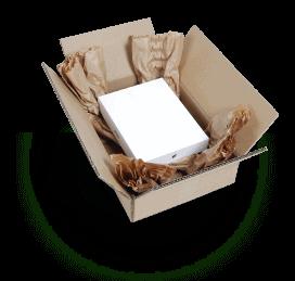 Padpak system pakowania, wypełniacze papierowe do paczek