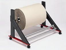 Wózek na rolkę do papieru