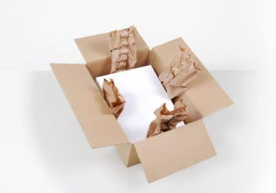 Wypełniacze papierowe - amortyzacja, wypełniacze papierowe do paczek