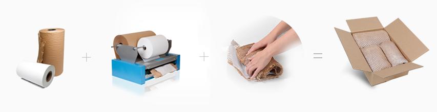 Ekologiczny wypełniacz papierowy alternatywa dla folii babelkowej