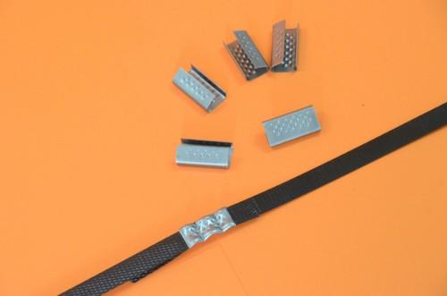 Zapinki metalowe do pakowania